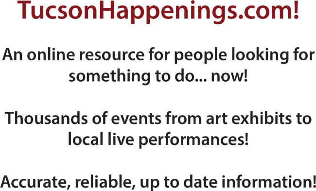 Advertise at TucsonHappenings.com
