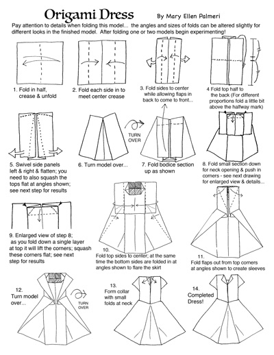 Money Origami Dress : 12 Steps (with Pictures) - Instructables | 518x400