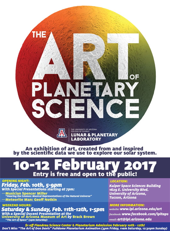 Art of Planetary Science